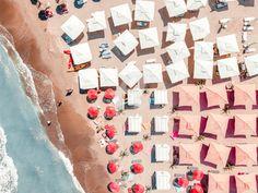 France Drawing, Wave Art, Abstract Animals, Beach Umbrella, Beach Print, Framed Prints, Art Prints, Cool Posters, Print Artist