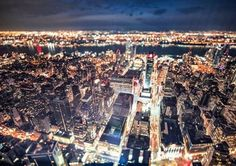 At the top the Empire State Building you can behold an incredible view of the heart of Manhattan New York USA. As the flickering neon lights below light up the night skyline youll feel like youre on top of the world. I decided to use the TS-E 17mm f/4L to get rid of distortion using the shift function and the tilt function gave me an interesting miniature effect. Here only Times Square was in focus and the surrounding skyscrappers were beautifully out of focus. Image captured by Shuo Feng…