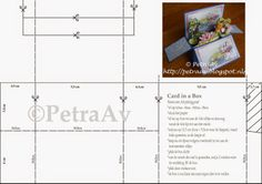 """Patroon langwerpige """"card in a box"""""""