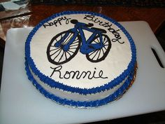 Bicycle+Birthday+Cake+-+This+was+made+for+a+friend+whose+husband+loves+bikes.
