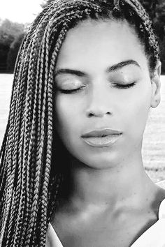 Beyonce With Box Braids Looking So ... Beautiful