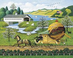"""The Paperboys"" by Charles Wysocki"