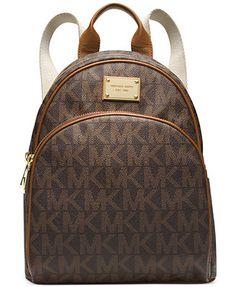 374723b401 MICHAEL Michael Kors Signature Small Backpack Bolsas Michael Kors
