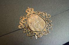 #invitation #convite  #casamento #wedding #crest #brasao #gold #dourado #ouro