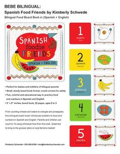 Bebe Bilingual Book Collection Proposal/Submission by Kimberly Schwede. Art copyright Kimberly Schwede.