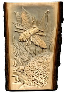 Free wood carving, pyrography, and craft step by step projects and line art patterns by Lora S. Irish, author of Relief Carving Workshop, Techniques, Projects, and Patterns for Beginners.