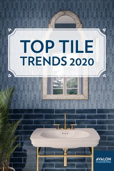 Top four trends in tile we are seeing for 2020! Tile is one of the easiest ways to express your personal style and reinvigorate almost any room in your house.