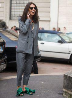 Así viste una editora de moda - Harper's Bazaar