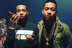 """G Herbo and Lil Bibby connect for 'Blackin Out"""", a DJ L-produced preview of their upcoming collaborative project, No Limitations. Lil Bibby, G Herbo, Dave East, Thug Life, New Music, Role Models, Hip Hop, Husband, Guys"""
