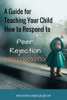 How do you respond when your child comes home from school, crying because another child has been mean to them? Teach them how to respond. #bullying #rejection