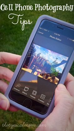 You can take amazing pictures with your cell phone. These cell phone photography tips will help you get started!