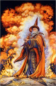 Wizard ~ Myles Pinkney