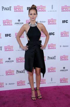 Jennifer Lawrence Attends The 2013 Independent SpiritAwards