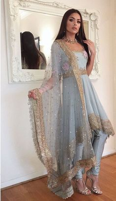 57 Ideas For Dress Indian Style Gowns 57 Ideas For Dress Indian Sty. - 57 Ideas For Dress Indian Style Gowns 57 Ideas For Dress Indian Style Gowns Source by manveenbal - Indian Wedding Outfits, Pakistani Outfits, Bridal Outfits, Red Wedding, Wedding Sari, Indian Weddings, Wedding Dresses, Indian Attire, Indian Wear