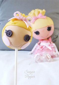 Estrade's cakes: cake pop Lalaloopsy Cenicienta
