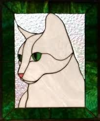 Image result for cat stained glass patterns