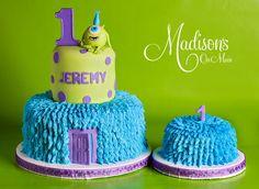 Pin The Disney Cake Blog Monsters Inc Cake on Pinterest