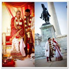 #Inter_Faith Marriage @ Baltimore: Scottish American Emilee & Desi Jason