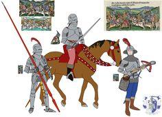 Military Units, Military Art, Knight Armor, Suit Of Armor, Effigy, Medieval Fantasy, 15th Century, Warfare, Renaissance