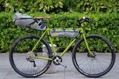 E.B.S PIKE / APIDURA BIKE PACKING | VeloStyle TICKET 東京銀座の自転車店 E.B.S・Surly・Moulton・小径・Minivelo・折畳をLine-Up