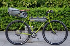 E.B.S PIKE / APIDURA BIKE PACKING | 700c ROAD / CROSS | VeloStyle TICKET