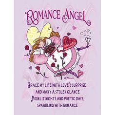 Caroline's Treasures Everybody's Angel Romance Angel Vertical Flag