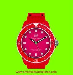 #colourLovers#smoothiewatch#redcherry#contrast#fashionitem#패셔니스타그램#패셔니스타#멋스타그램#멋스타#kontrast#smoothiewatch_kr#www.smoothiewatchkorea.com#