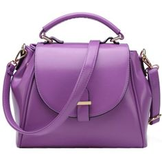 Donalworld Women Vintage Shoulder Bag Tote Top Handle Cross Body Big Handbag Purple. Mainly Material; Soft and Substantial PU Leather Material Outside.Woven Dacron material inside,a very stiff sturdy material. Size:Bottom Length 28cm/11.03inch,Height 22cm /8.66inch,Bottom Width 10cm/3.94inch,portable height 7cm/2.76inch,adjustable shoulder srap length 120cm/47inch appro. weight 0.85kg. outside design: Flap top with push lock closure desgin,Solid Pattern. 4 metal pins at the bottom of the…