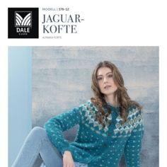 DG376-02 Rallykofte hvit/sjøgrønn – Dale Garn Graphic Sweatshirt, Pullover, Knitting, Sweatshirts, Sweaters, Design, Fashion, Threading, Scale Model
