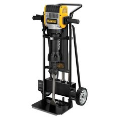Dewalt Pavement Breaker with Hammer Truck and Steel Power Tools Concrete Tools Breaker Hammers Dewalt Tools, Demolition Hammer, Concrete Tools, Cordless Drill Reviews, Garage, Drill Press, Drill Driver, Tools And Equipment, Heavy Equipment