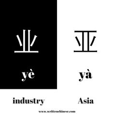 业 (yè) and 亚 ( yà) not only look alike but also sound alike. 业 means industry and is seen in the bigram 农业 meaning farming. 亚 is the character that represents Asia and is found in place names such as 东亚 East Asia and 三亚 Sanya. How do you remember 业 (yè) and 亚 ( yà)? Share your ideas with us! #hanzi #learnchinesecharacters #learnchinese #chinesedictionary #china #vocab #studychinese #putonghua #mandarin