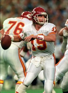 Kansas City Chiefs Joe Montana he played some great games for us