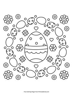 Easter Coloring Pages eBook: Happy Easter   Easter colouring, Happy ...