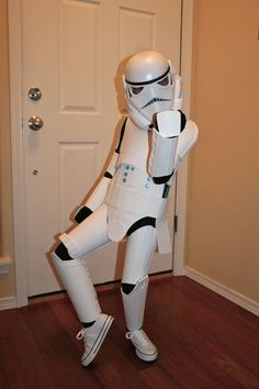 DIY Storm Trooper Costume