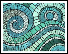 Mosaic Glass Art - The Dance by Anne Marie Price Mosaic Garden Art, Mosaic Tile Art, Mosaic Rocks, Mosaic Artwork, Mosaic Mirrors, Mosaic Art Projects, Mosaic Crafts, Mosaic Designs, Flower Power