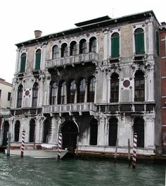 Grand Canal - Venice, Italy   Palazzo Contarini-Polignac - Doges were from this family. The Polignacs, later owners, hosted the likes of the painter John Singer Sargent and Pablo Picasso and the writer Marcel Proust.
