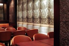 PATTERNED ILLUSION 1 WALLPAPER PANEL - DEBORAH BOWNESS - Lime Lace