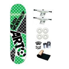 Alien Workshop Arto Battle 8.0 Skateboard Deck Complete by Alien Workshop. $64.99. Brand New Alien Workshop Skateboard Complete