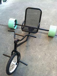 my custom made drift trike