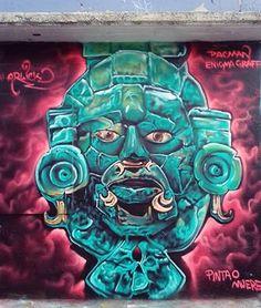 Enigma aka Arlick Pacman in Naucalpan, Mexico, 2017