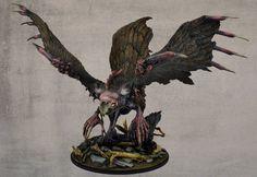 Phoenix painted by Bohun
