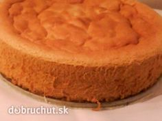Tortový korpus bez oddeľovania vajec - Korpus je jednoduchý, vláčny a nadýchaný. Sweet Recipes, Cake Recipes, Healthy Recipes, Healthy Foods, Eastern European Recipes, 20 Min, Cornbread, The Best, Food And Drink