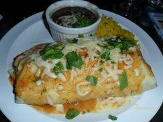 Spicy Burrito at Clearwater Wine Bar & Bistro on Clearwater Beach. #ClwbTasteFest #ClwbRestaurantWeek