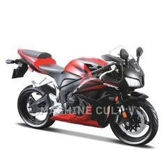 Miniatura Honda CBR 600 RR - Maisto 1:12 - Machine Cult   Loja online especializada em camisetas, miniaturas, quadros, placas e decoração temática de carros, motos e bikes