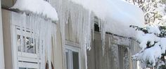 Ice Dams, Snow Slides and Freezing Temperatures. Ice Dams, Home Free, Frozen, Weather, Snow, Tips, Outdoor, Outdoors, Outdoor Games