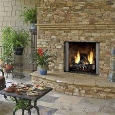 Carolina Gas Fireplace from Heat  & Glo