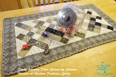 Candy Squares Table Runner
