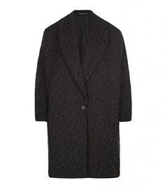 Leopard Klein Coat - AllSaints Spitalfields