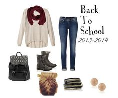 Cute, simple outfit for back to school.