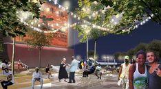 Coleman Oval Skate Park Proposal / Holm Architecture Office + VM Studio,Courtesy of Holm Architecture Office + VM Studio